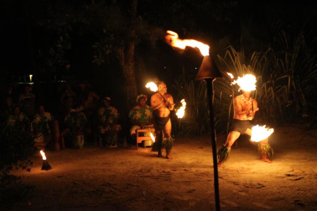 タヒチアンダンスショー