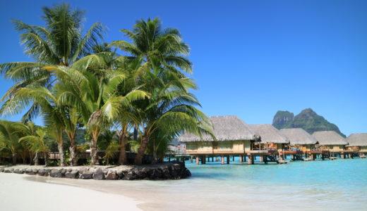 タヒチボラボラ島パールビーチリゾートスパ