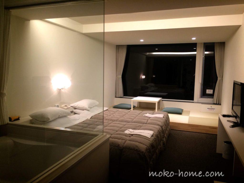 ホテルシーショアリゾートに子連れで宿泊した部屋
