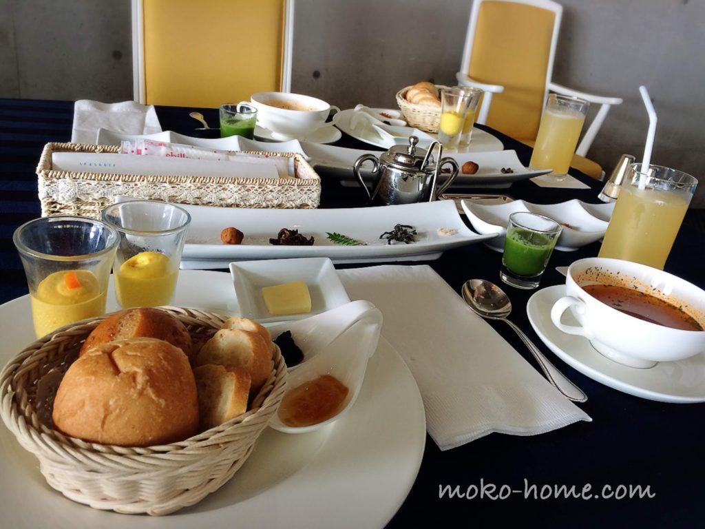 ホテルシーショアリゾートの朝食