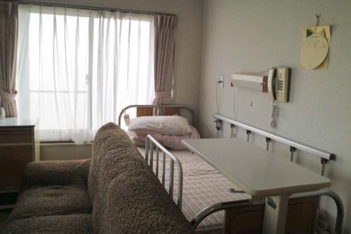杉江産婦人科の入院部屋