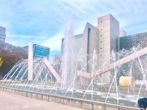 名古屋市科学館の噴水