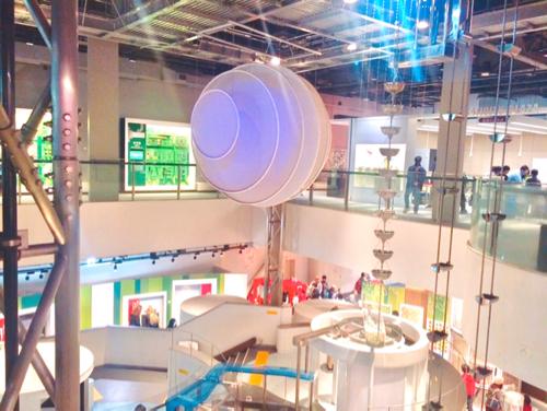 名古屋市科学館の内装
