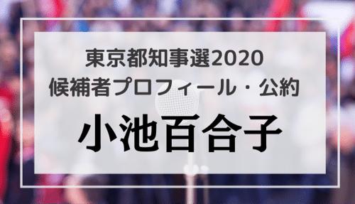小池百合子(67)のプロフィール・公約・経歴をチェック!東京都知事選2020候補者