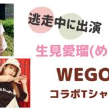 生見愛瑠(めるる)の私服ブランドは?WEGOとコラボTシャツも大人気!