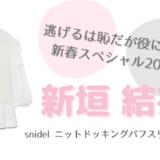 逃げ恥2021新春スペシャル|新垣結衣スナイデル衣装の販売店舗まとめ