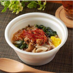 【ファミリーマート】ユッケジャンクッパ風スープ(雑穀入り) 398円