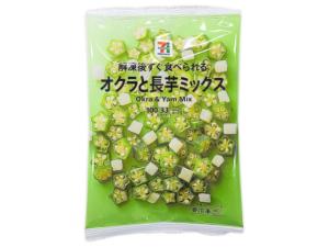 セブンイレブン オクラと長芋ミックス 203円(税込)